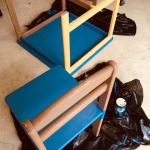 kid-size table craft project